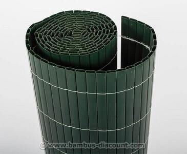 "Balkonsichtschutz PVC Matte ""Sylt"" 90 x 200cm grün"