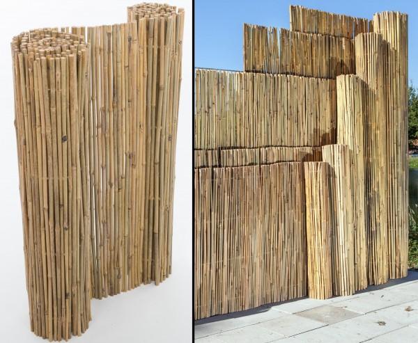 "B-Ware Bambusmatte ""Bali"" mit 150x300cm, stabil mit Mängel"