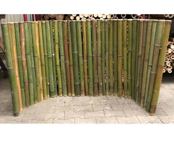 """Bambusmatte naturgrün """"Big Green"""" 90x200cm mit 4 bis 6cm, B-Ware"""
