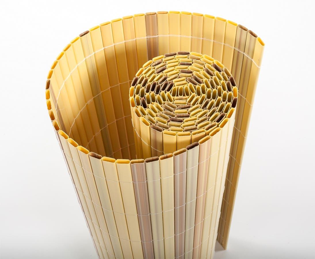 Kunststoffmatte, Sylt 8 x 8cm, bambus farbig online kaufen