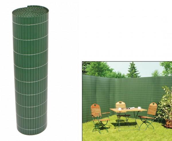"""Balkonverkleidung, """"Sylt"""" 90 x 500cm uni-grün"""