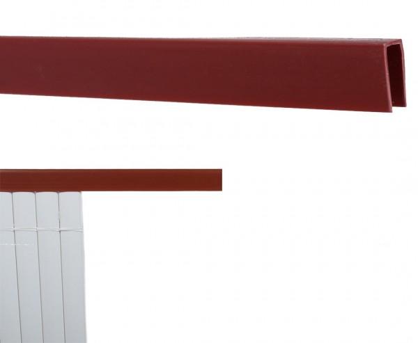 Abschlußleiste U-Profil, Länge 150cm, für Sylt und Rügen, kirsch