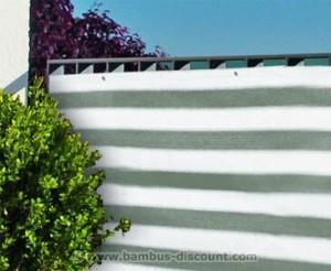 Sichtschutz mit Mustern und Farben von bambus-discount.com