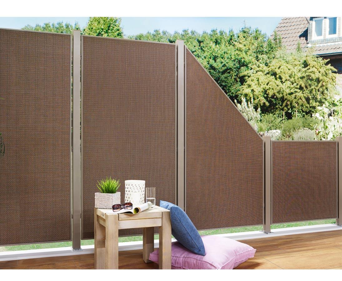 Zaunelement 178x88 Moderner Garten Sichtschutz Fur Zuhause Jetzt