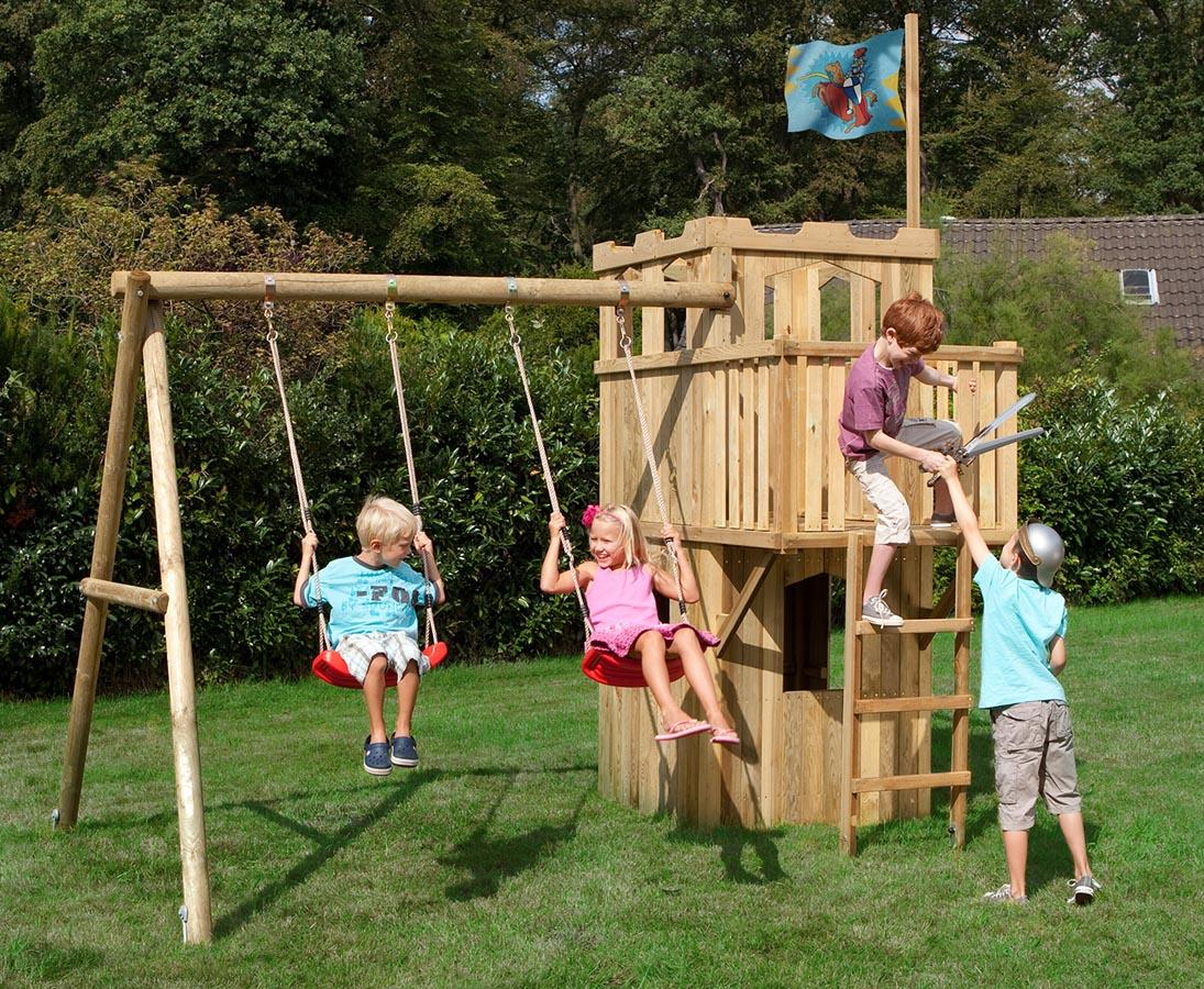 Gut gemocht Spielturm als Ritterburg TÜV geprüft für Kinder jetzt online kaufen DL38