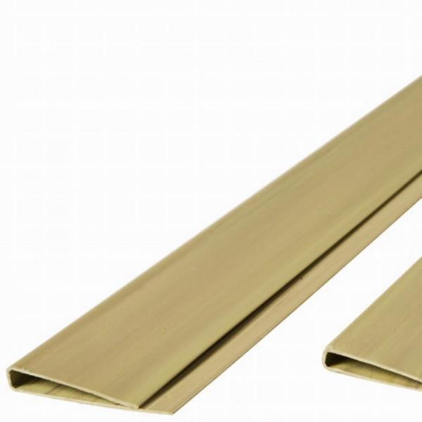 Abdeckprofil für Kunststoffmatten der eco Serie bambus farbig, Länge 200cm