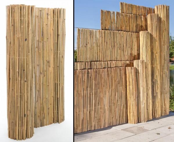 Bambusmatte B-Ware mit 180x300cm, stabil mit Mägel
