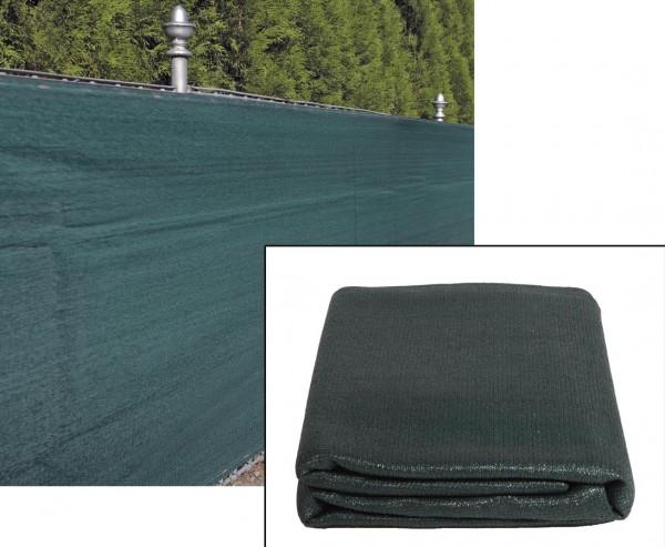 Preiswerte Sichtschutz Zaunblende grün 100 x 500cm