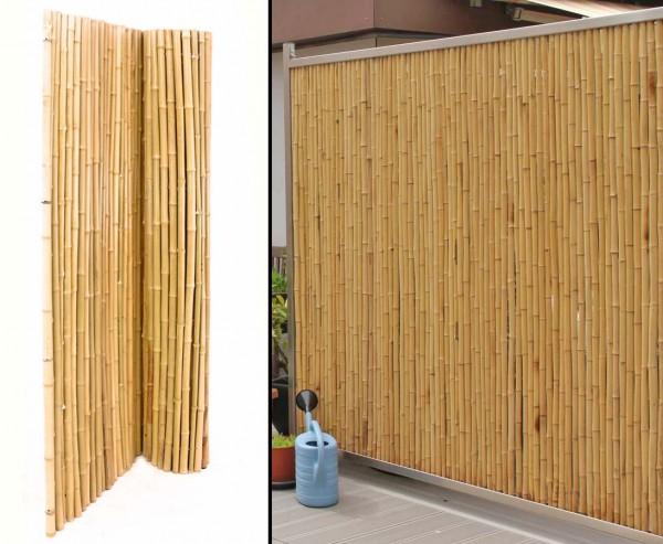 """Bambus Matte """"Bali Heavy"""" 200 x 250cm, Durch. 18 bis 30mm"""