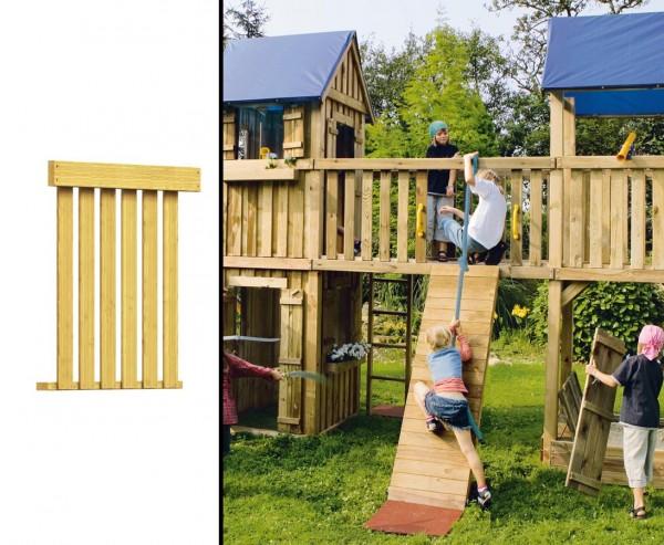 Holzbrüstung für Spielturm Ausbau, 98x80cm