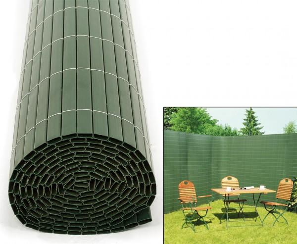 """Kunststoffmatte Garten Sichtschutz, """"Sylt"""" 180 x 300cm grün"""