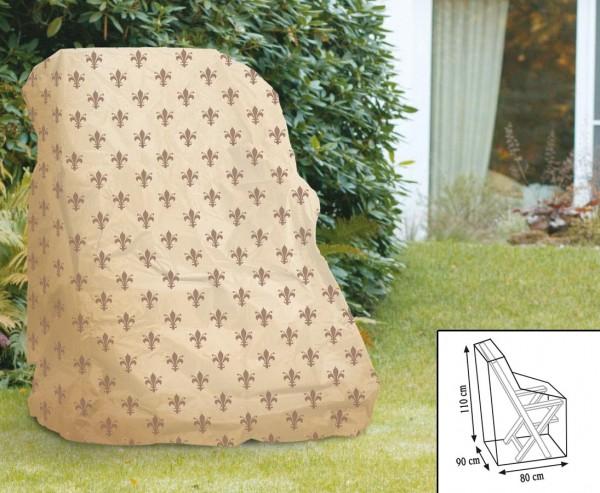 """Schutzhaube""""Cover"""" Lilie, für Hochlehner Sessel, 110x90x80cm, beige"""