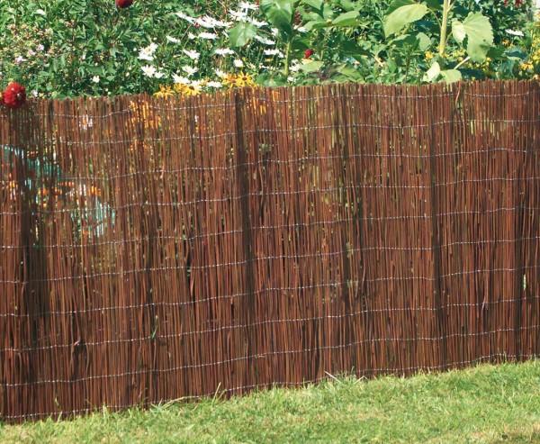 """Sichtschutzmatte Weidenfarn """"Country"""" 100 x 300 cm"""