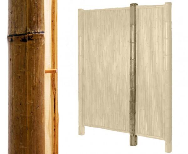 """Bambus Pfosten für Sichtschutzwand """"TEN"""", Höhe 155cm"""