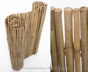 Sichtschutzmatte aus Bambus von bambus-disocunt.com