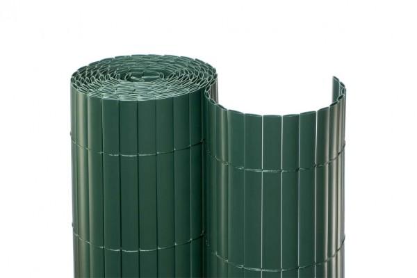 """Sichtschutz Kunststoff """"München"""" grün, günstige Ausführung 120 x 1.000cm"""