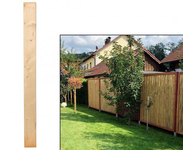Zaunpfosten natur mit 9 x 9 x 105cm