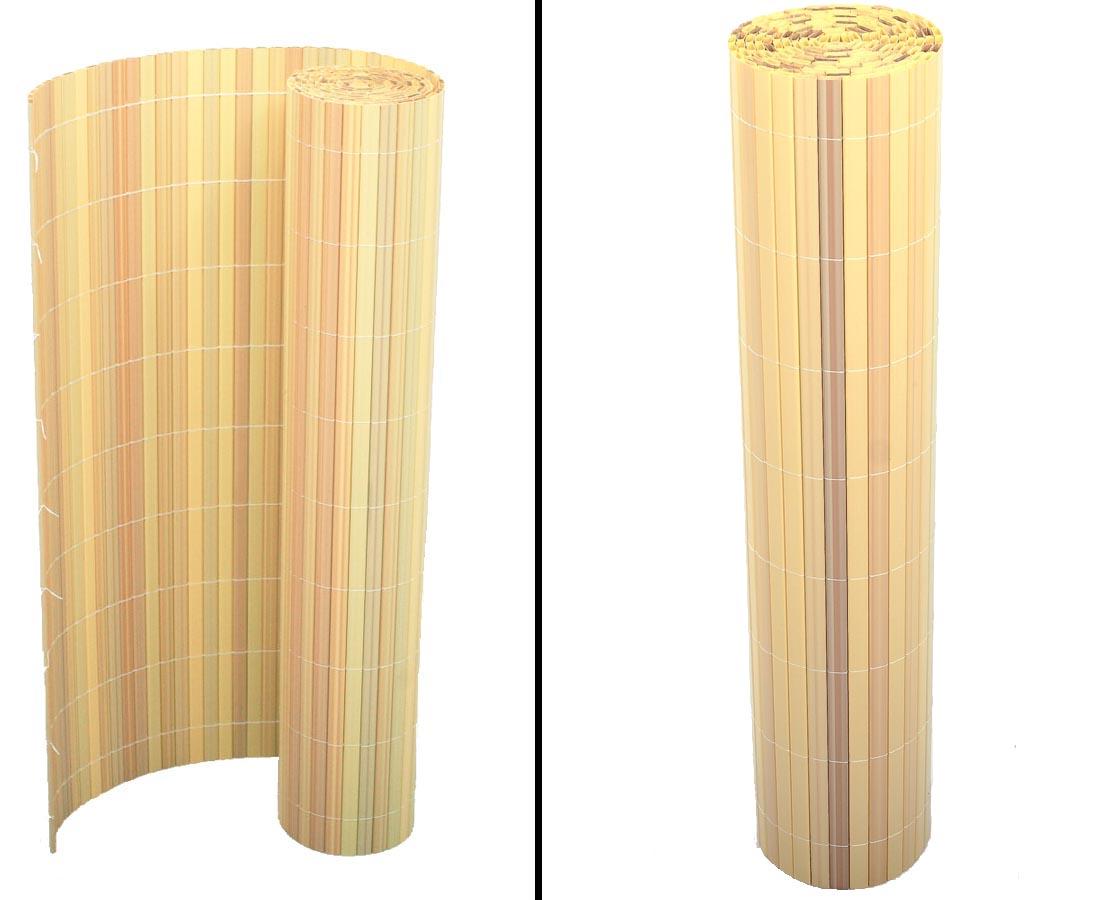 Kunststoffmatte Sylt 8 x 8cm, bambus farbig günstig shoppen