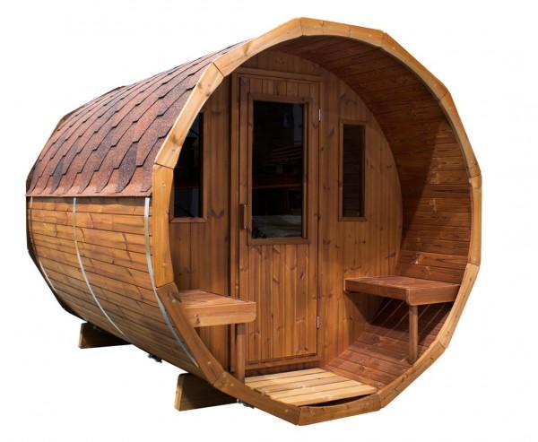 Saunafass liegend, Bausatz
