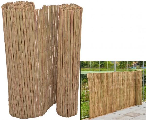 Grasmatte aus Cogon als Sichtschutz 90 x 500cm