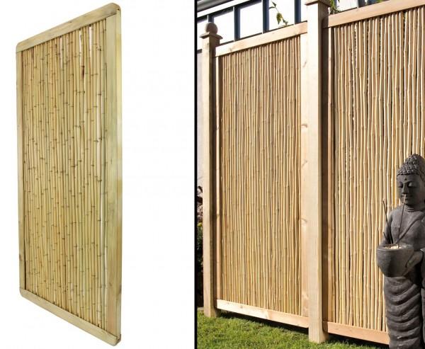 """Bambus Sichtschutz """"Phuket Bambu"""" 179x89cm, Premium"""