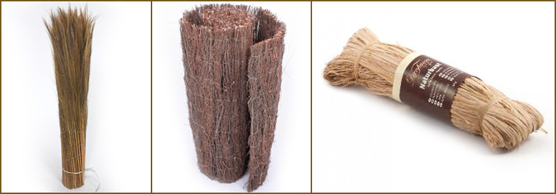 Bambus-Winterschutz