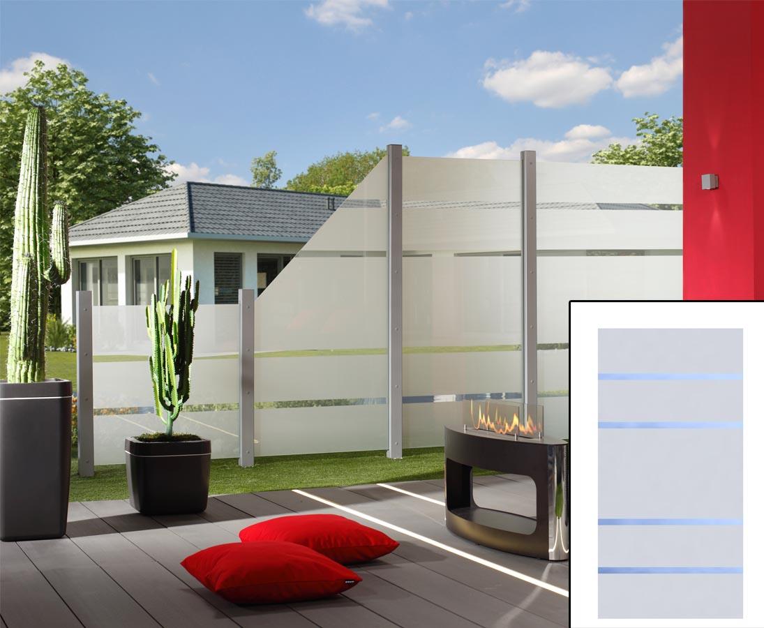 Sichtschutz Aus Glas Element Mit 180x90cm Jetzt Bestellen