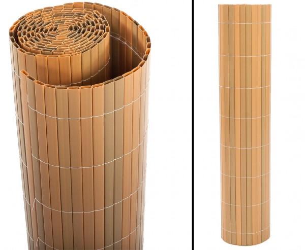 "Balkonverkleidung, ""Sylt2"" 90 x 200cm teak"