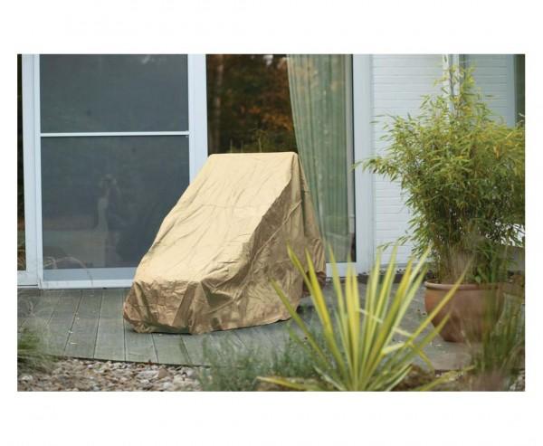 Schutzhülle Gartenmöbel, für Gartenliege, mit 50x90x210cm, beige-uni
