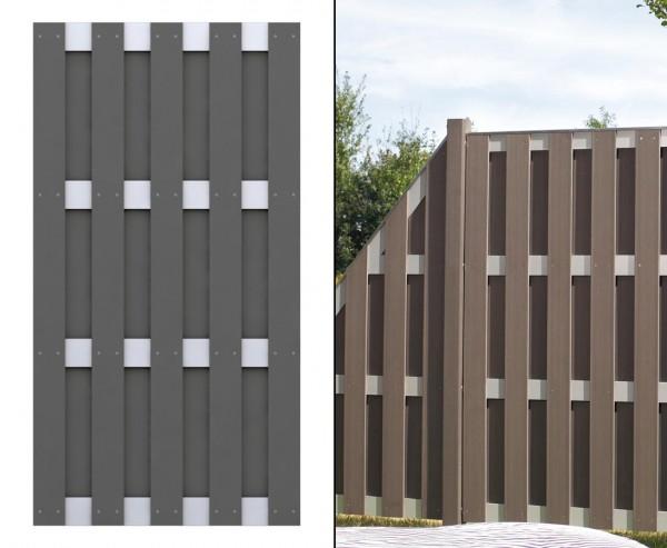 Zaunbau, einfach mit dem Jumbo System 179x95cm