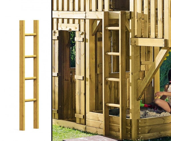 Holzleiter für Spielturmerweiterung, 150cm
