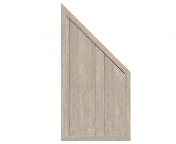 """Zaunelement Abschluss polareiche """"Longlife Riva"""" mit 180/ 90 x 90cm"""