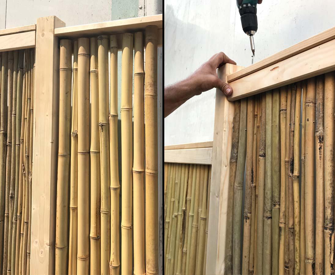 U Profil Zum Bambuszaun Selbstbau 300cm Hier Gunstig Kaufen
