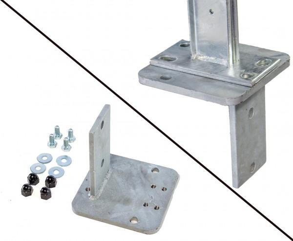 L-Stein Montageadapter für Aufschraubanker