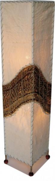 """Stehleuchte """"Sumatra"""" aus Kokosfaser und Rattan, Höhe 100cm"""