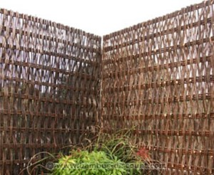 Das Weidenelement Paris von bambus-discount.com