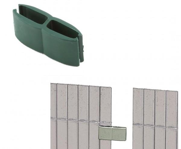 Mattenverbinder für Kunststoffmatten, grün farbig