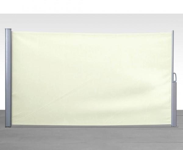 Seitenmarkisen variabler Sichtschutz 180x350cm sand farbig