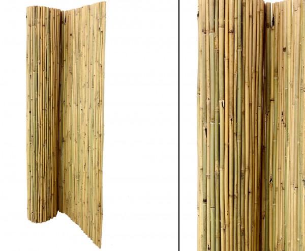 "Bambusmatte ""Bali"" 180x300cm, extrem stabil mit Draht druchbohrt"