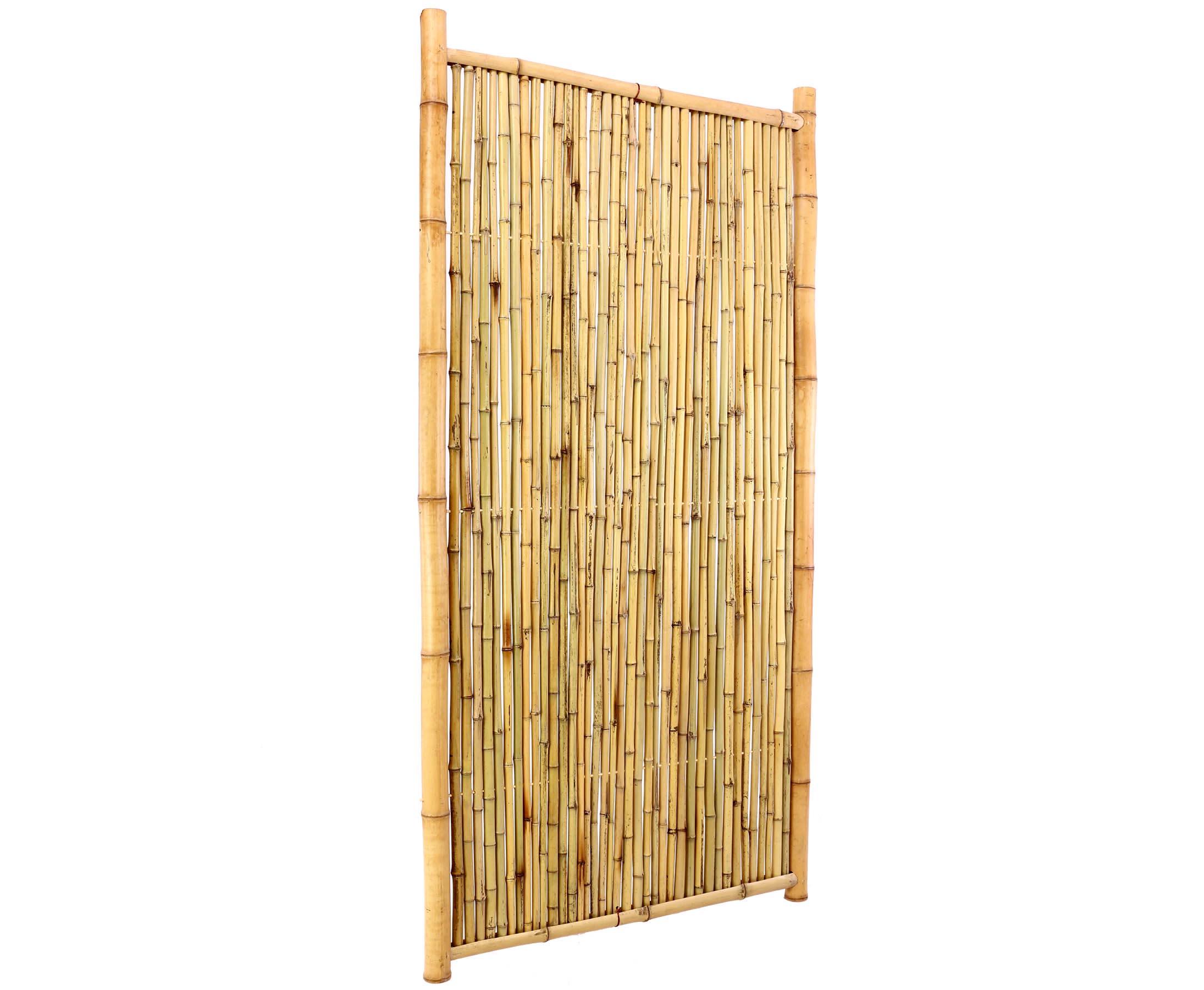 Bambus Sichtschutzzaun Geschlossen 180x90cm Hier Bestellen